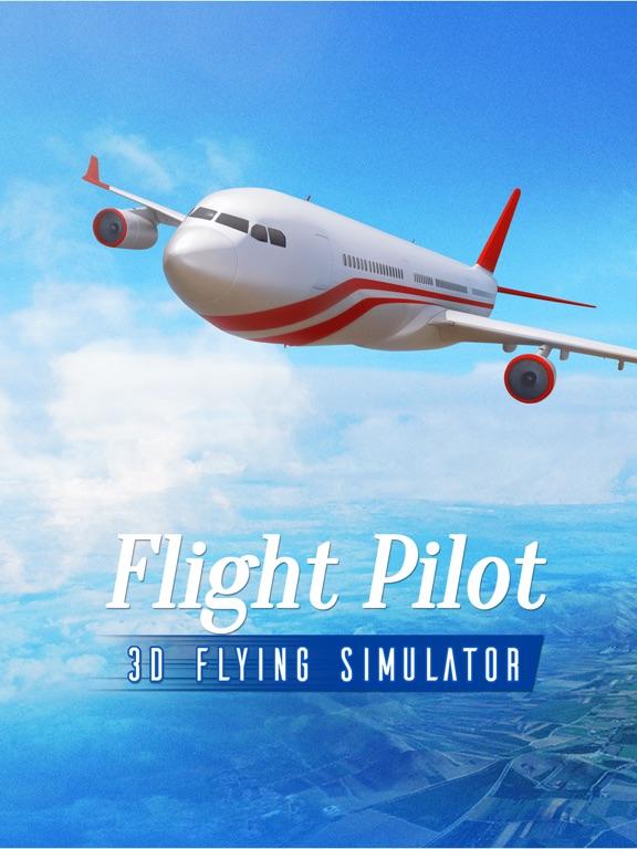 Полет Пилот - симулятор самолета игры 3D на iPad