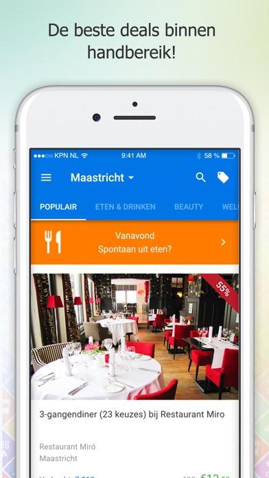 social deal de beste deals app voor iphone ipad en ipod touch appwereld. Black Bedroom Furniture Sets. Home Design Ideas