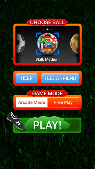 ARSoccer - Augmented Reality Soccer Game Screenshot 4