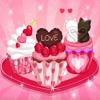 烹飪遊戲糖果蛋糕遊戲女孩
