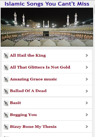 Islamic Songs You Can't Miss screenshot 2