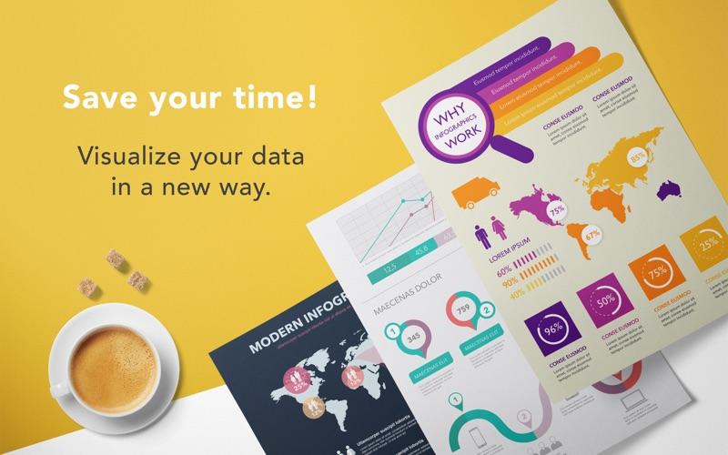 GN Infographics for Adobe Illustrator - Templates Screenshot - 2