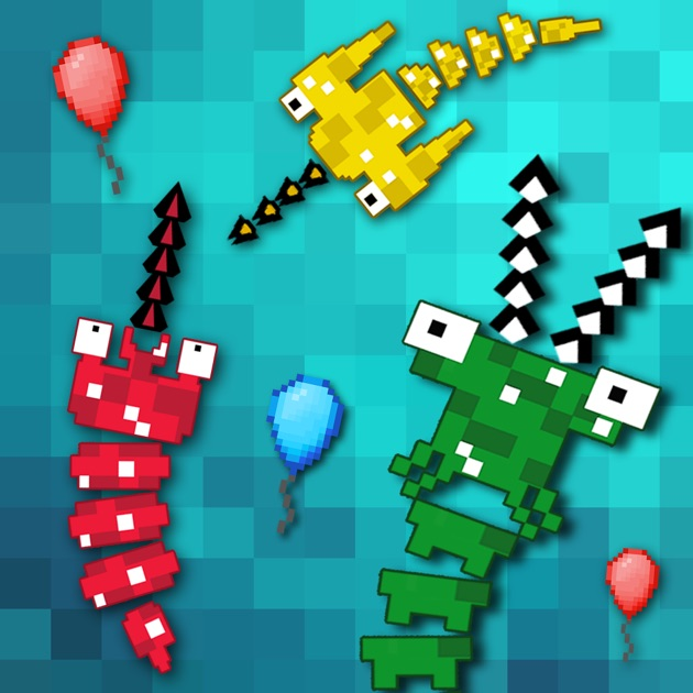 Pixel sword fish io on the app store for Fish io games