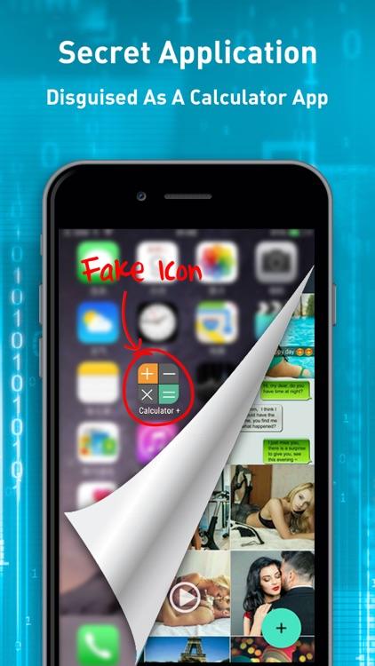 Secret calculator app for iphone
