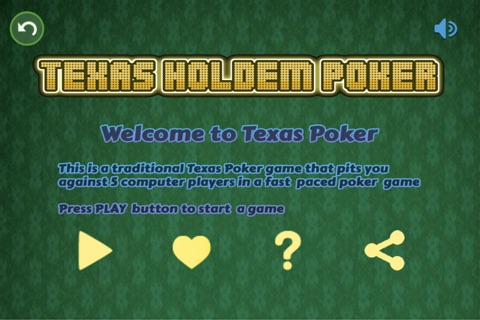 Texas Style Holdem Poker screenshot 2