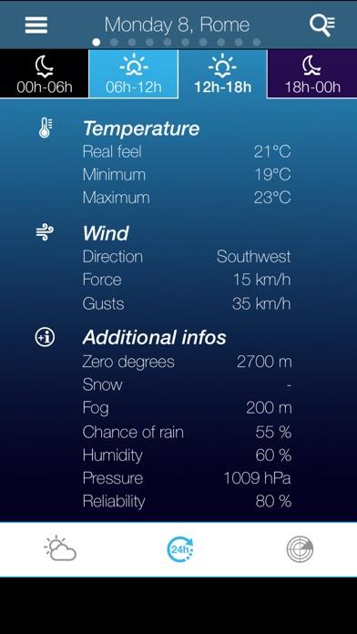 Погода в ИталииСкриншоты 3