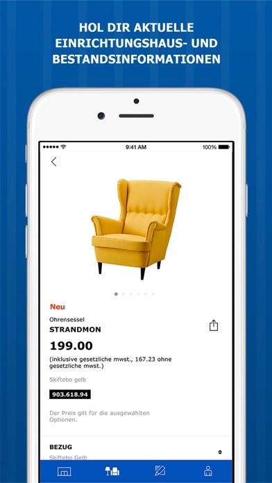 ikea store im app store. Black Bedroom Furniture Sets. Home Design Ideas