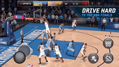 Screenshot #10 for NBA LIVE Mobile Basketball