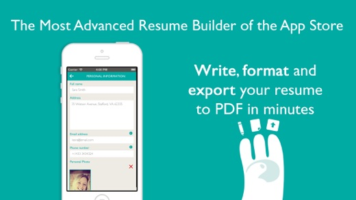 resume designer pro produce elegant resumes on the app store