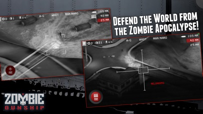 Screenshot #7 for Zombie Gunship: Gun Down Zombies