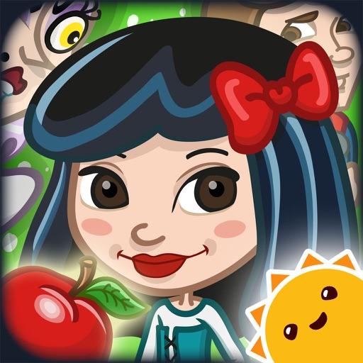 格林童话之白雪公主:Grimm's Snow White ~ 3D Interactive Pop-up Book