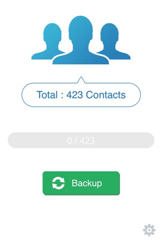 My Contacts Backup screenshot 1