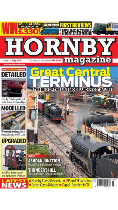 Hornby Mag review screenshots