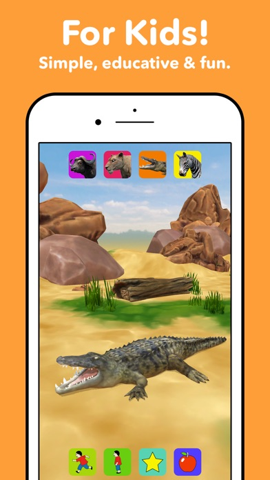 Zebra Safari Animals - Kids Game for 1-8 years old App ...