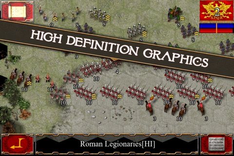 Ancient Battle: Rome screenshot 1