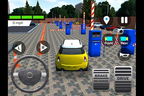 High School Car Driving Test screenshot 3