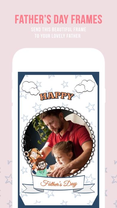Screenshot of giorno del padre foto cornici app, cornici & adesi2