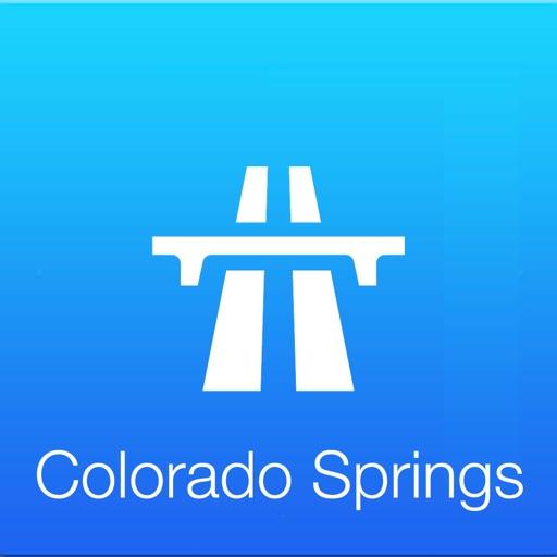 Colorado Springs Traffic Cam +Map iOS App