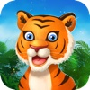 A Baby Tiger Run FREE - Addictive Running Game