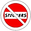 No Stickers Sticker Pack