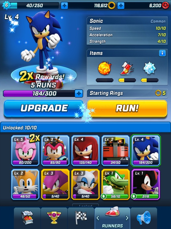 Sonic Forces: Speed Battle Screenshots