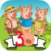 Os Três Porquinhos interativo