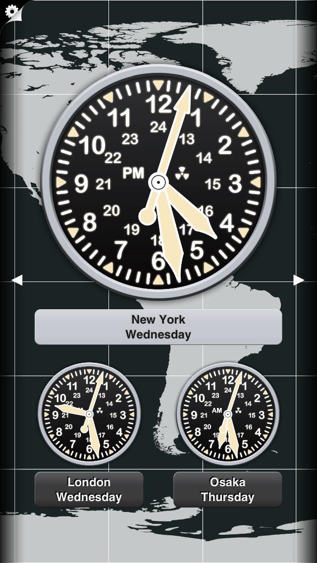 世界時計 (News Clocks) screenshot1