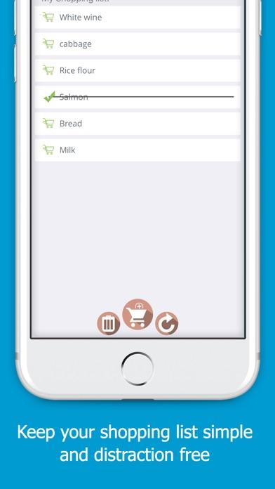 Simply Shopping Screenshots