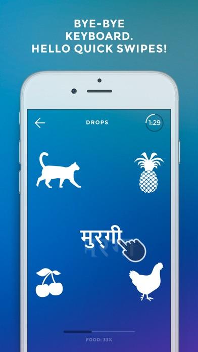 Screenshot of Drops: Impara lingua hindi3
