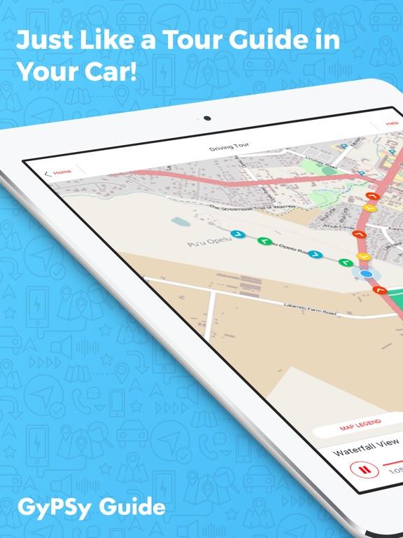 Road to Hana Maui GyPSy Guide iPad