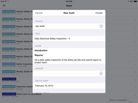 EHS Audit - Inspect better screenshot 3