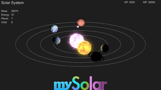 mySolar - Build your Planets Screenshots