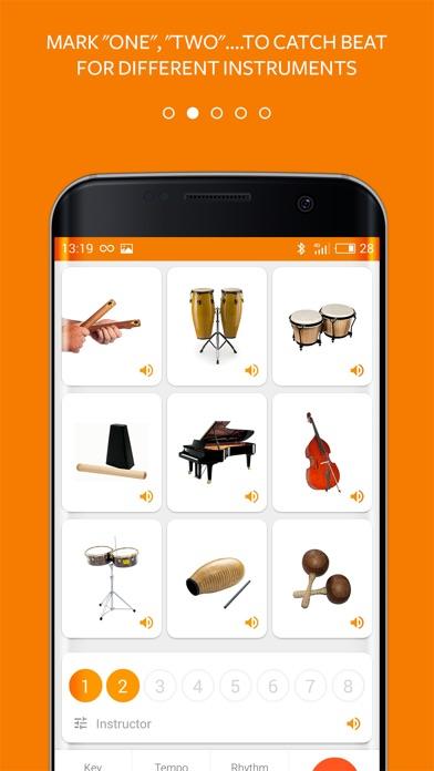 Salsa Beats Metronome Screenshot 2