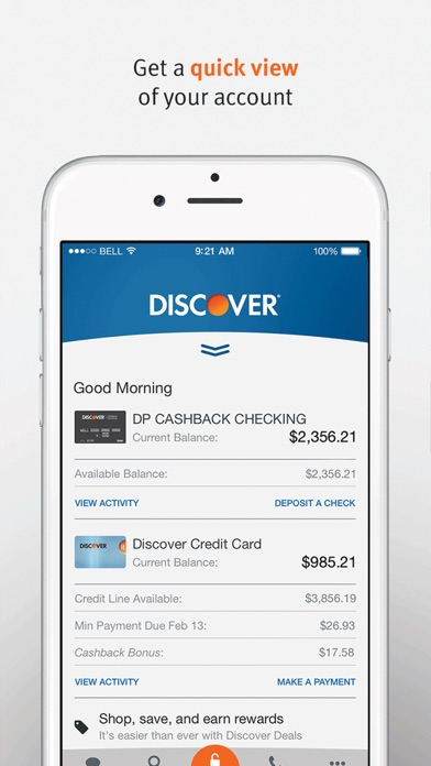 Discover Mobile iPhone
