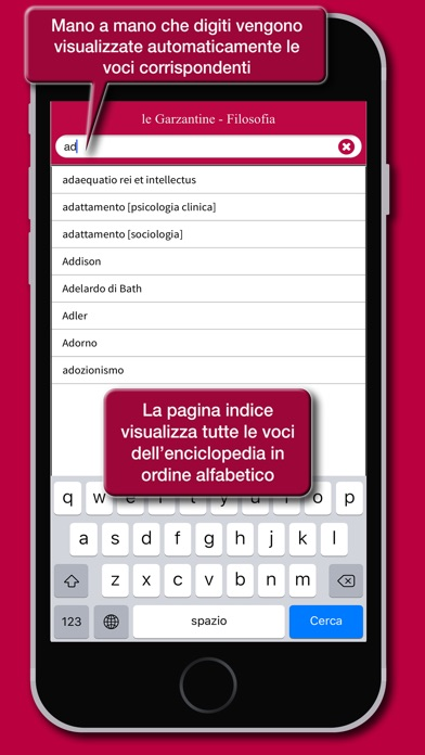 Screenshot of le Garzantine - Filosofia2