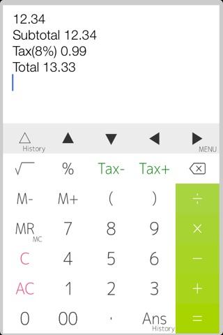 Calculator PanecalST Plus screenshot 2