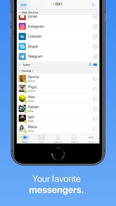 IM+ Instant Messenger Скриншоты4