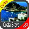 Costa Brava cartas náuticas HD