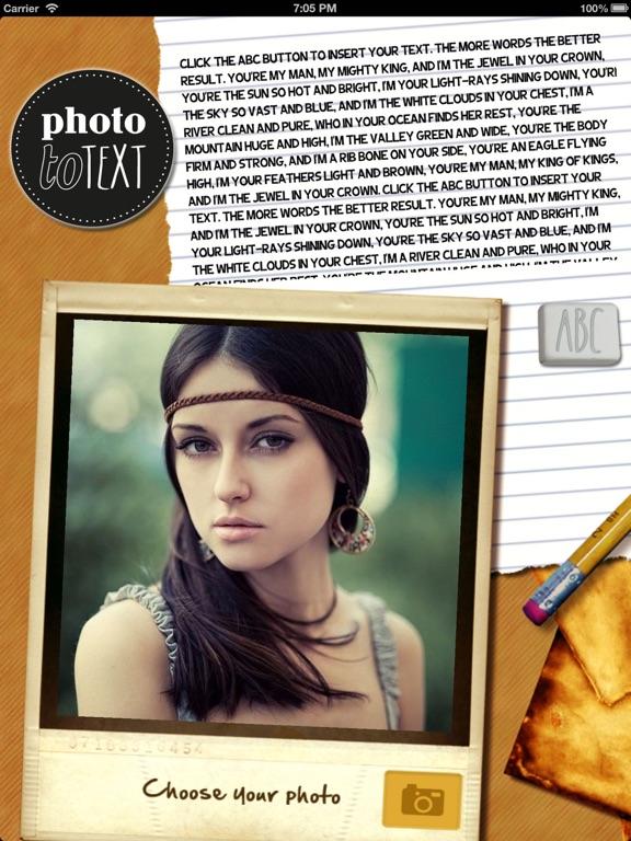 PhotoToText Screenshots