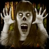 Gruseliger Geist Kamera: Paranormal Foto Aufkleber