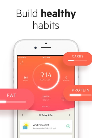 Lifesum: Diet & Food Tracker screenshot 1