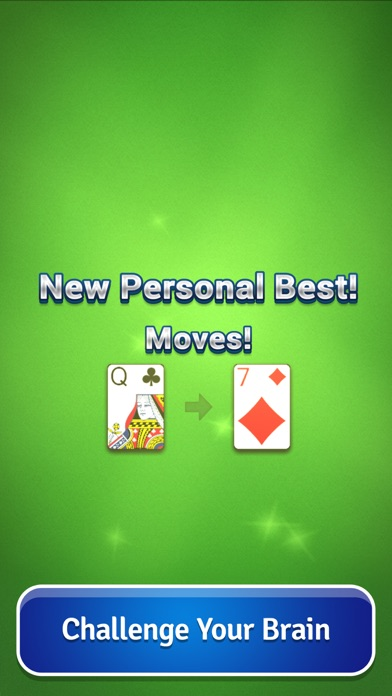 Screenshots of Pyramid Solitaire - Card Game for iPhone