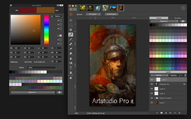 Artstudio Pro for Mac
