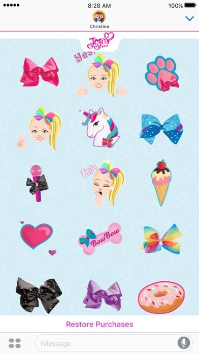 App Shopper JoJo Siwa Stickers Stickers