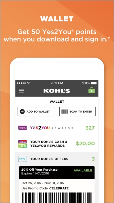 download Kohl's: Scan, Shop, Pay & Save apps 2