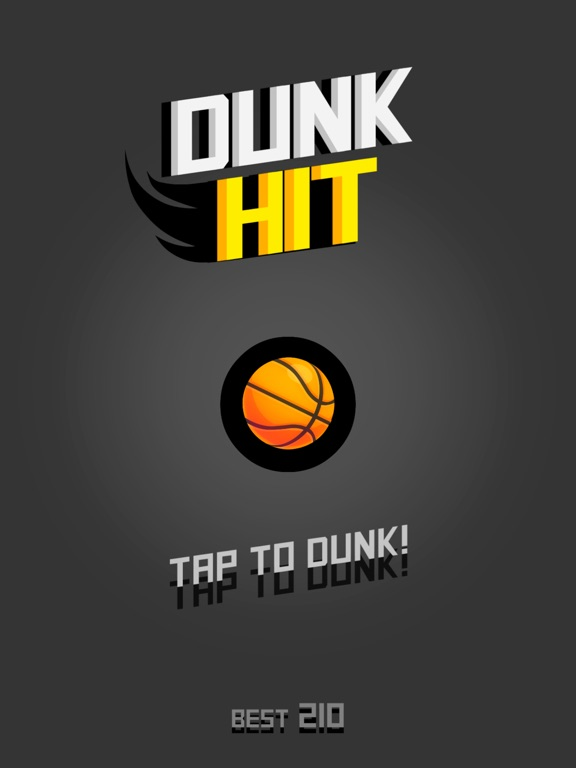 Image of Dunk Hit for iPad