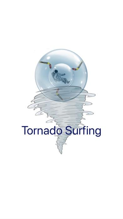 Tornado Surfing - Star Zorbing Screenshot on iOS