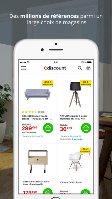Cdiscount maison loisirs dans l app store for Application construction maison ipad