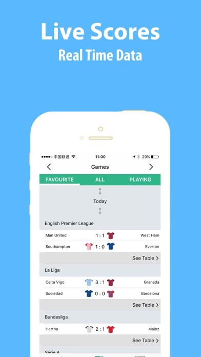 Football bee League Live Score Скриншоты5