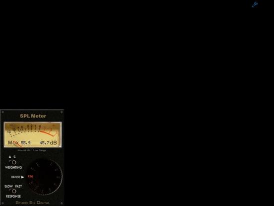 SPL Meter Screenshots